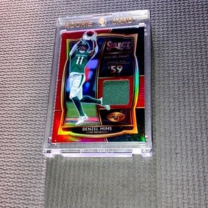 Denzel mims patch card